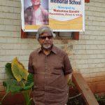 Arun Gandhi at Sunanda Memorial School Avani Kolhapur