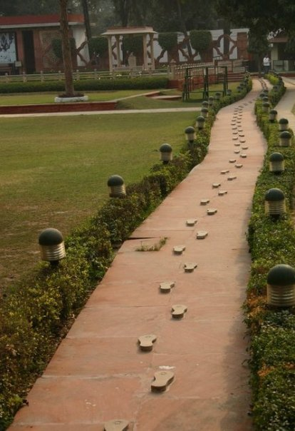 New Delhi Gandhi's Last Walk