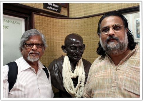 Arun and Tushar Gandhi Lead The Legacy Tour