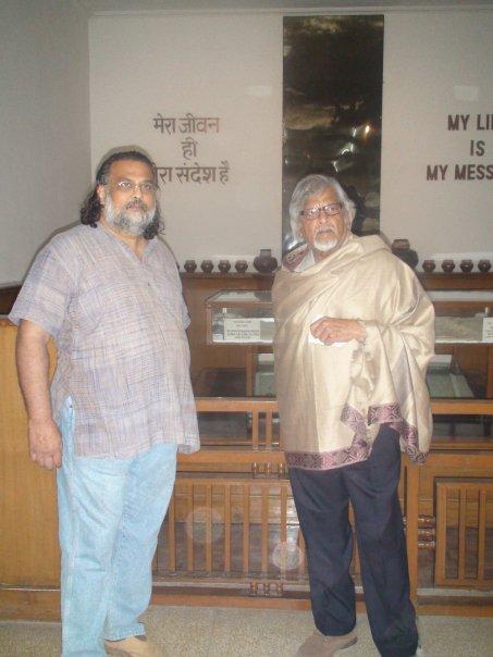 Tushar and Arun Gandhi