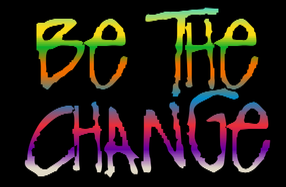 Be the change with Gandhi
