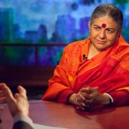 Bill Moyers talks with Vandana Shiva