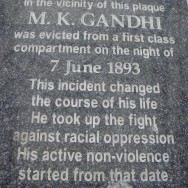 Day 8: June 7 1893 Retracing Gandhi's Footsteps