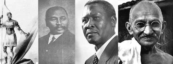 Zulu to Gandhi SA History
