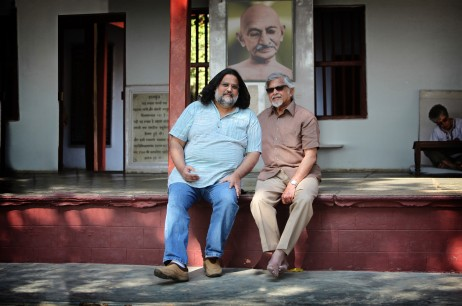 Arun and Tushar Gandhi lead the Gandhi Legacy Tours