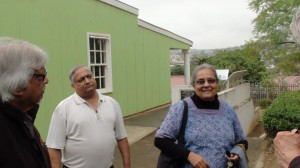 ela and arun gandhi at phoenix settlement birth home