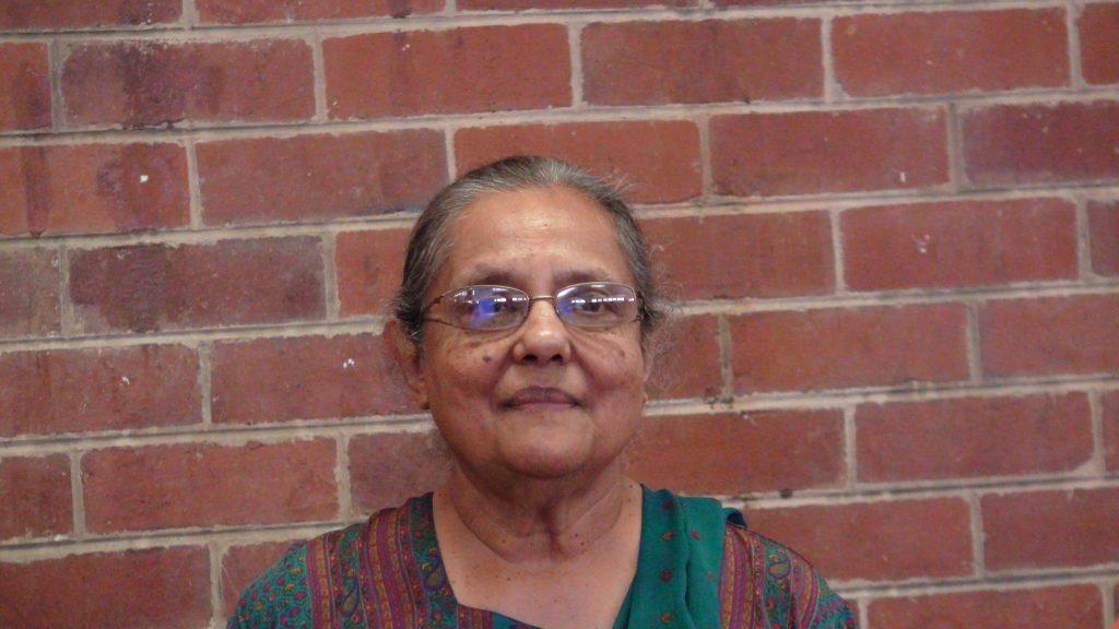 Ela Gandhi at the Phoenix Settlement Durban raises the question of Gandhi racist.